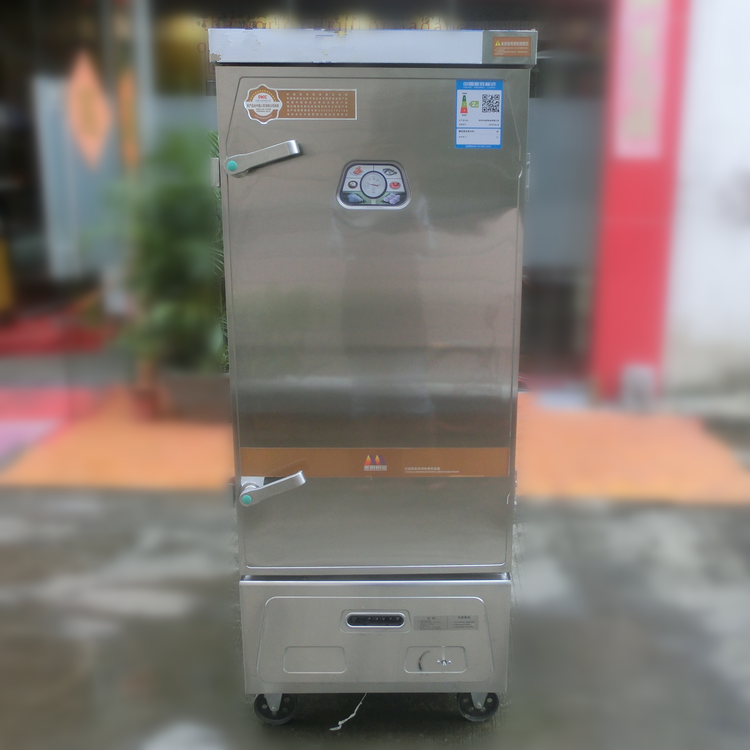 commercial stainless steel one door gas rice steamer cabinet(ZQMC-H12G)