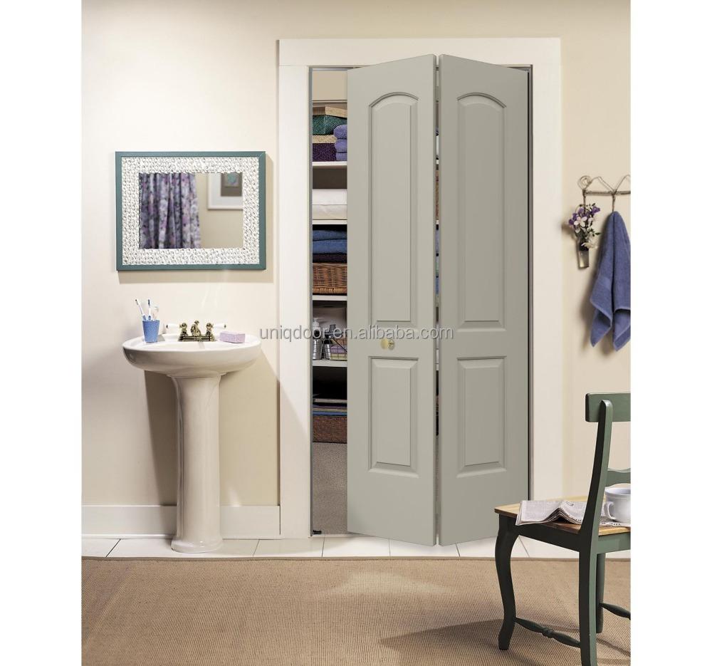 Finition lisse blanc couleur pin bois persienne coulissante placard portes pliantes porte image - Porte de placard persienne coulissante ...