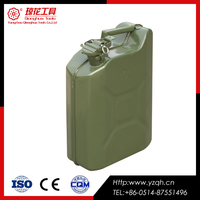 wholesale price empty aluminum jerry can oil barrel for sale