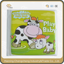 waterproof baby bath book with 12 years of production experiences
