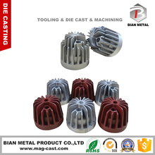 New Products OEM LED Heat Sink Aluminum Die Casting Light Parts Manufacturer In China