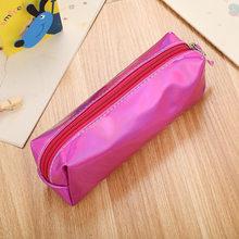 1 шт цветной пенал для студентов канцелярские новые корейские сумки большой емкости пенал милые канцелярские ручки сумка, школьные принадл...(Китай)
