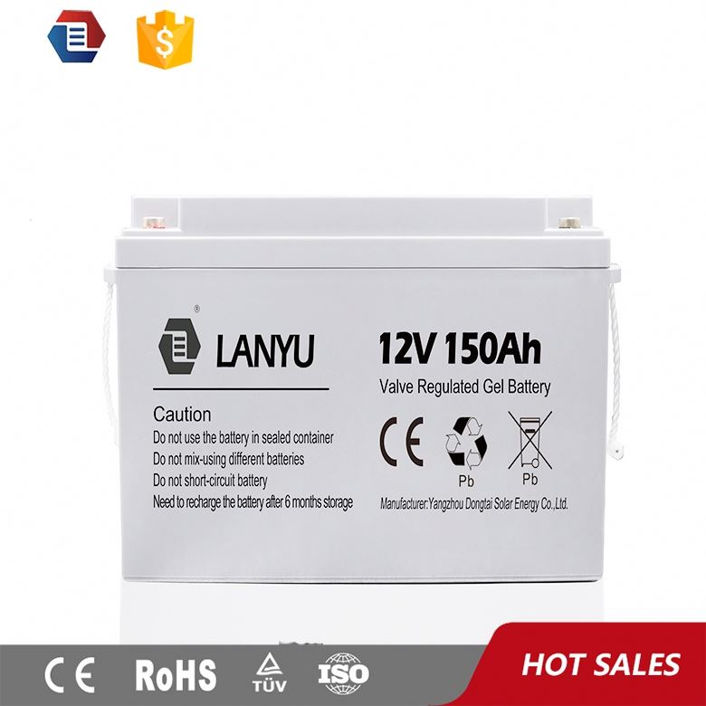 MOTOMA Gel rechargable deep cycle 12V150AH battery