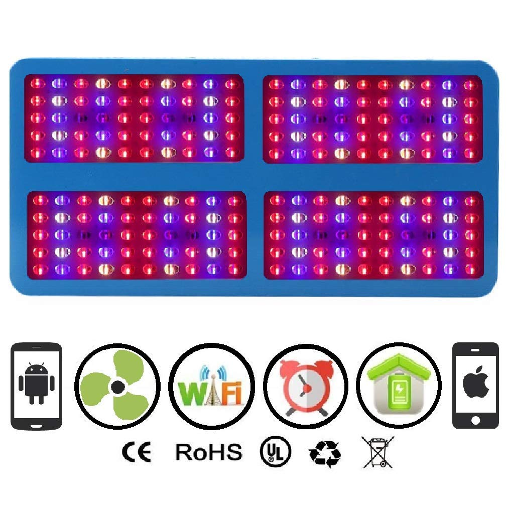 WiFi 2000W LED Smart 200XL Chip Grow Light Panel for Indoor Hydroponic Cultivation WiFi 2000W LED Smart 200XL Chip Grow Light Panel for Indoor Hydroponic Grow Garden