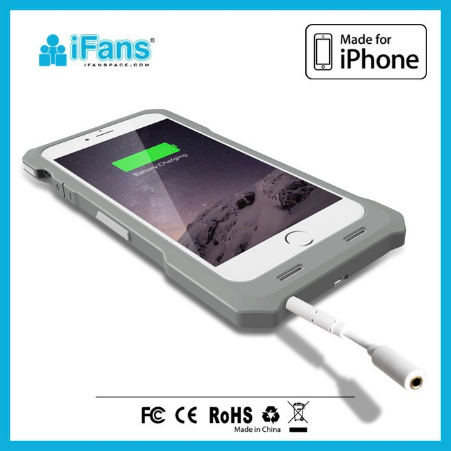Apple iPhones Compatible Brand and TPU Material external battery case for iPhone 6