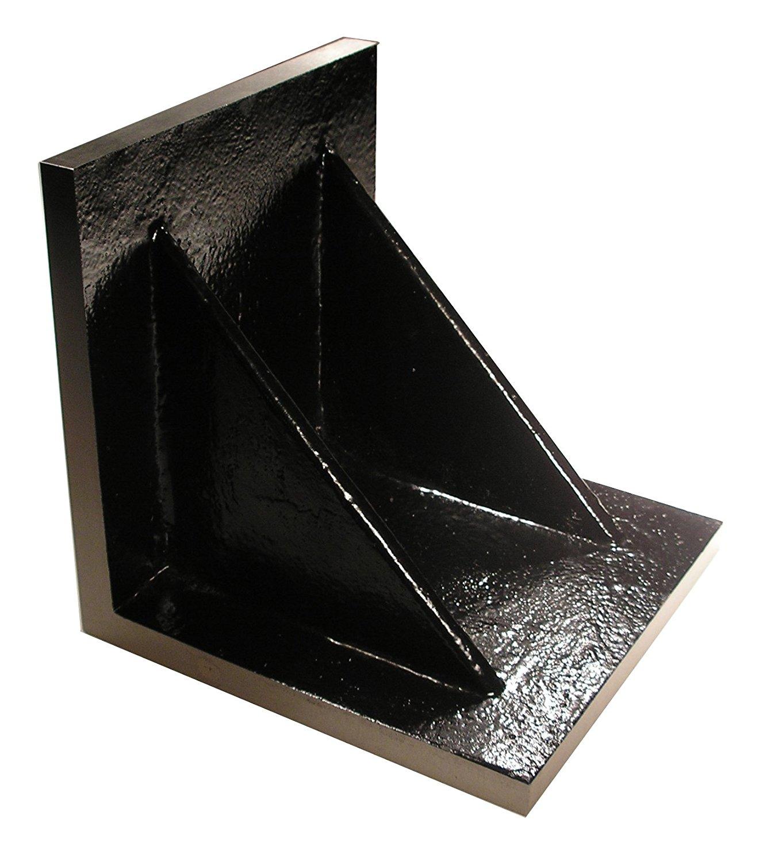 Value Line 5 x 5 x 5 Plain Angle Plate - Webbed - Machined