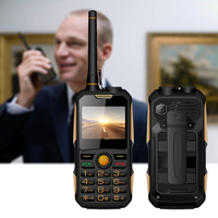 new Push to talk Rugged like walkie talkie GSM 2g PTT power bank mobile phone torch feature phone