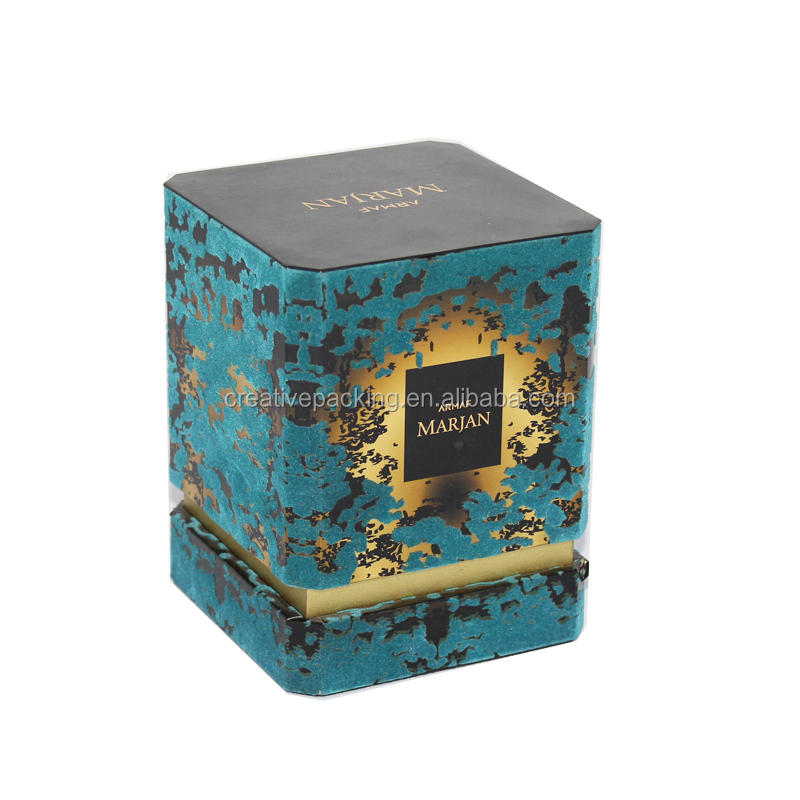 Wholesale Velvet Flocking Perfume Packaging Box