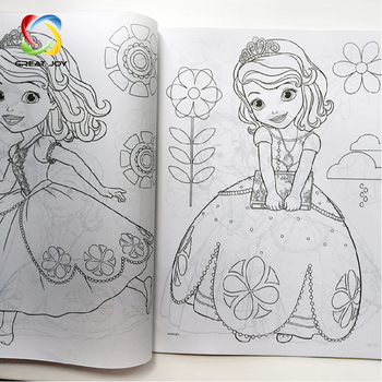 Wholesale Caoted Paper Children Custom Kids Coloring Book Printing Buy Coloring Book Printing Custom Kids Coloring Book Printing Custom Coloring