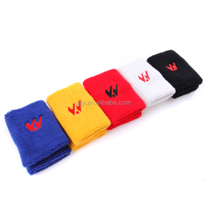 Embroidered Terry Custom Cotton Wristband/Sweatband