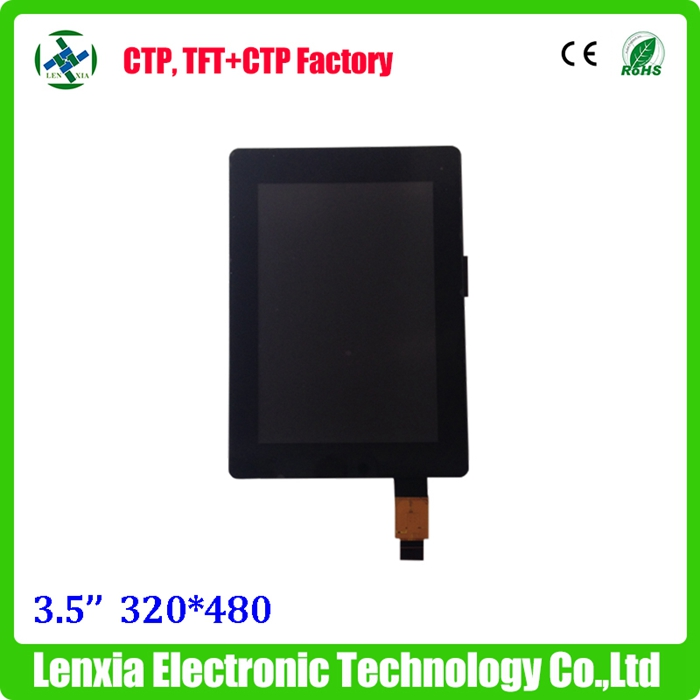 Vertical mode 3.5 inch 320x480 tft display + touchscreen