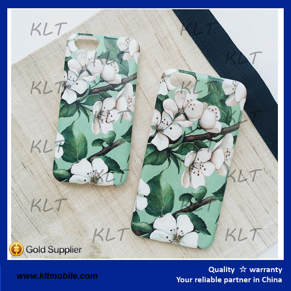 KLT- New design Pear case Camellia case for phone good quality
