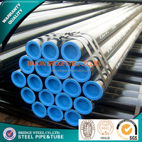ASTM A53 ASTM A106 GRADE B seamless steel Pipe for gas .petroleum or liquid delivery
