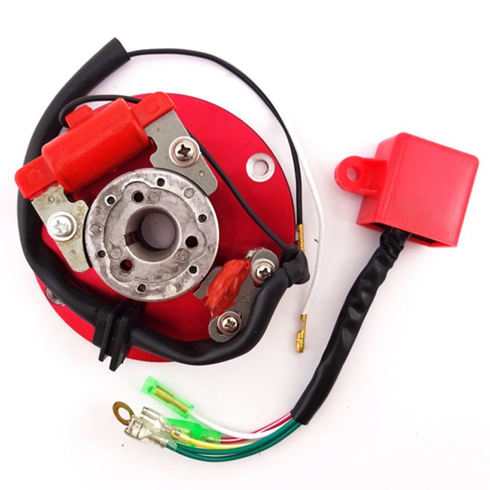Buy Tc Motor Racing Magneto Stator Red Rotor Ignition Cdi Box Kit Lifan 125cc Wire Harness For 110cc 140cc