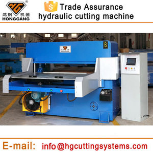 plane hydraulic automatic eva foam/paper/plastic die cutting machine