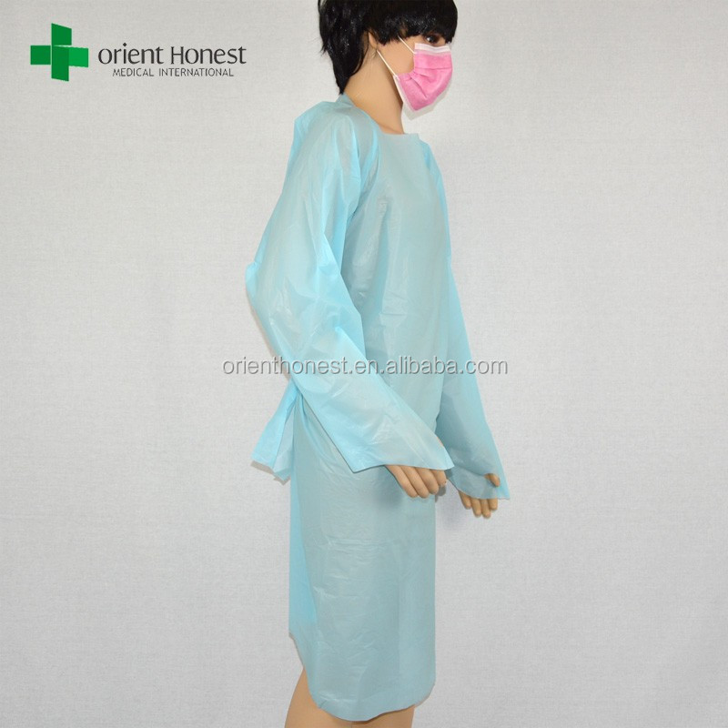 Disposable Blue Plastic Isolation Gowns Wholesale, Gowns Suppliers ...