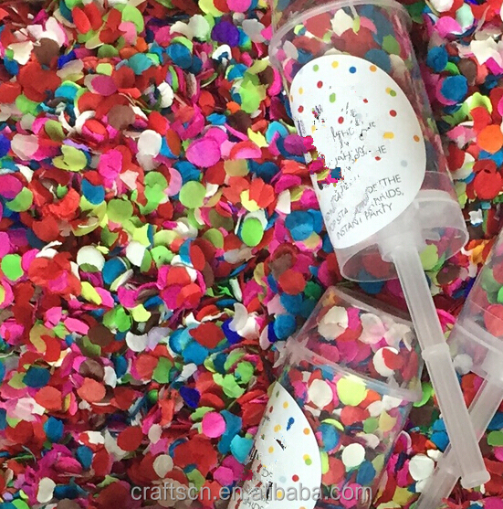 Butterfly Metal Sliver Confetti cannon stick for wedding and party supplies