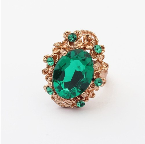 R054 Europe And The United States Retro Fashion Droplets Ring 2236