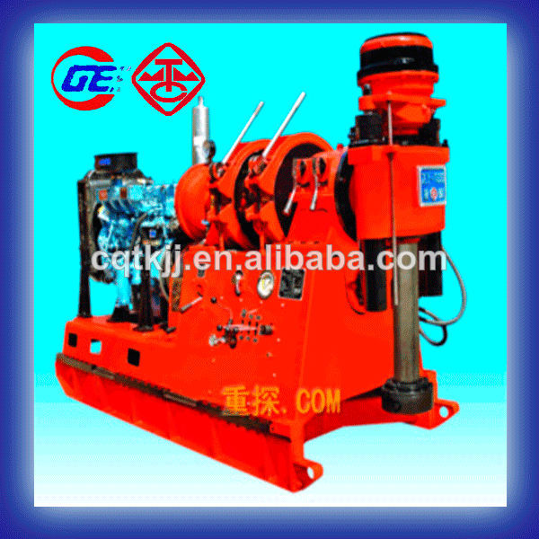 Borehle depth 1000m used portable XY-1000 rotary Cable tool drilling rig machine price