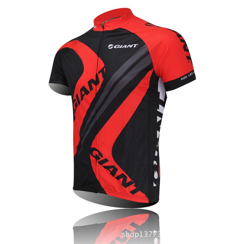 b95e955b0 Get Quotations · Red Giant Cycling Jerseys Cycling clothing bicycle jersey  Team bike bicycle Cycling jersey short sleeve Cycling