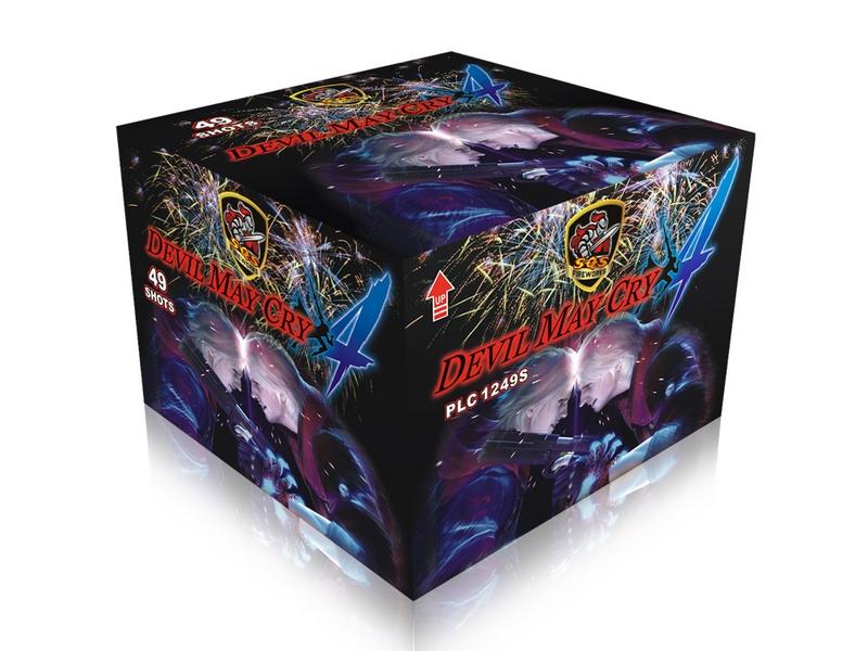 Shipping Firework Box Wholesale China 49 Shot Cake