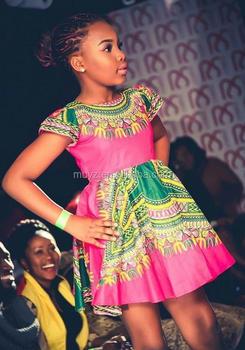 L0648A Offre Spéciale Impression Africaine dashiki enfants filles robe  nouveau modèle robe