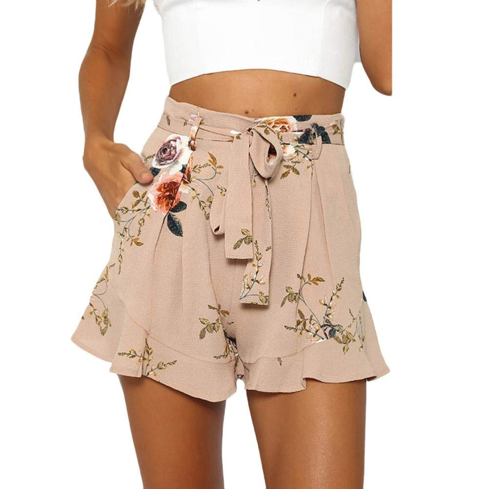 Casual Shorts,Lowprofile Women Sexy Skirt Summer Print Short Pants