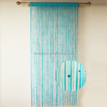 Blue Christmas Shower Curtain With Attached Valance