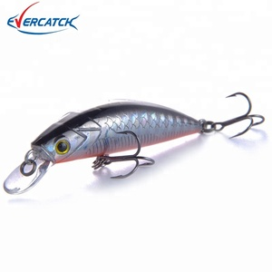 High Quality Fishing Wobbler Artificial Minnow Lures 50mm(2 inch)/6.5g Sinking Bait