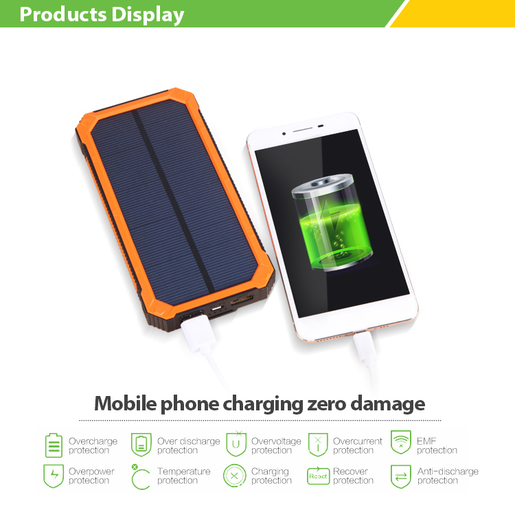 2 power bank solar