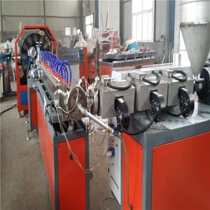 Flexible / transparent pvc clear hose/pvc fiber braided reinforced water hose tube Pipe Extrusion Machine/Production Line