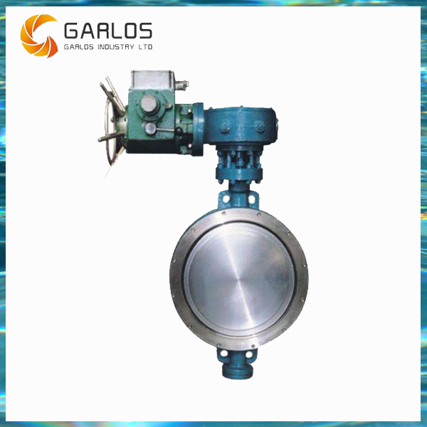 DB973H Triple Offset Wafer Electric Butterfly Valve