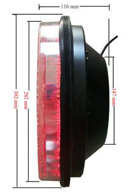 300 мм 12 дюймов стрелка светодио дный трафика свет семафора core