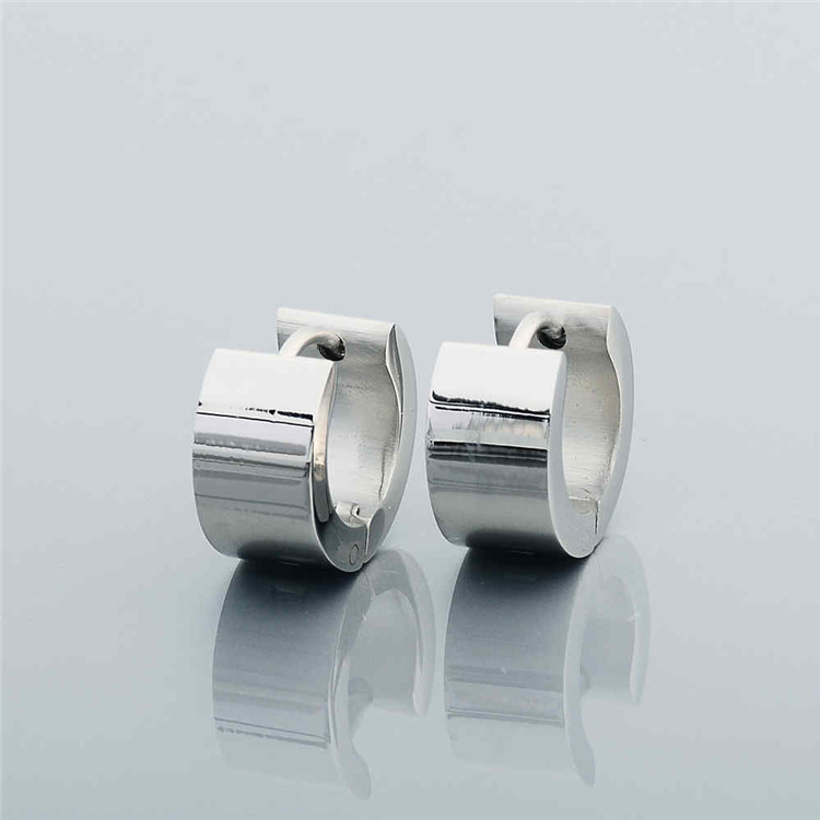 Hot Selling Sterling Silver Earring For Boys Designs