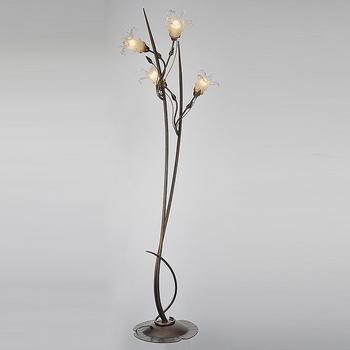 Decorative Gl Flower Fancy Floor Lamp