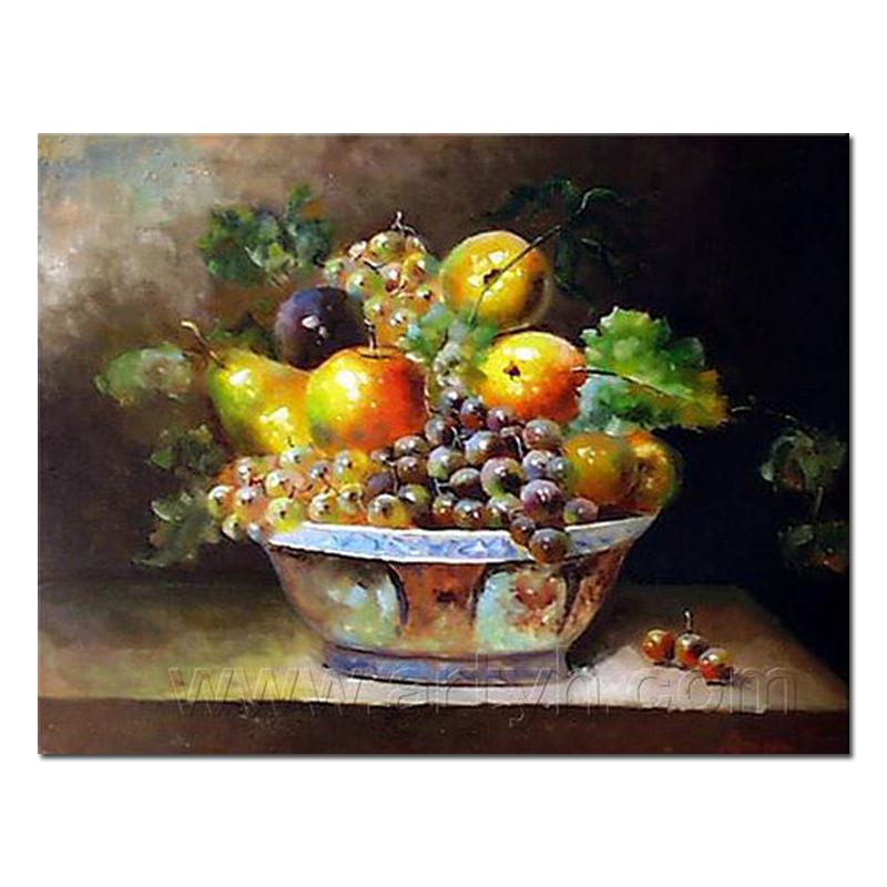 Handgemaakte Olieverf Stilleven Fruit Buy Olieverf Stilleven Fruit
