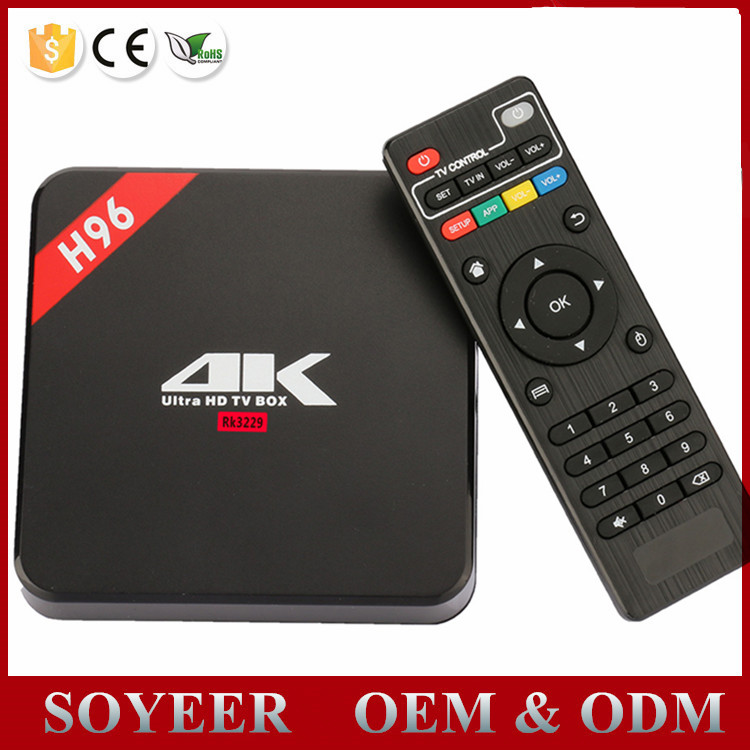 Soyeer World Max Tv Box H96 Android Tv Box 6 0 Quad Core 4k Google Android  Tv Box Isdb-t - Buy Android Tv Box 6 0,Quad Core Android Tv Box Tv,Google