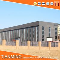 steel building and sandwich panel used shoes warehouse warehouse layout design Steel structure for sale