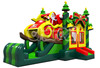 2016 Newest Origional Design Inflatable Merry Christmas Tree Bouncy Castle and Santa Claus Jumping House Bouncer