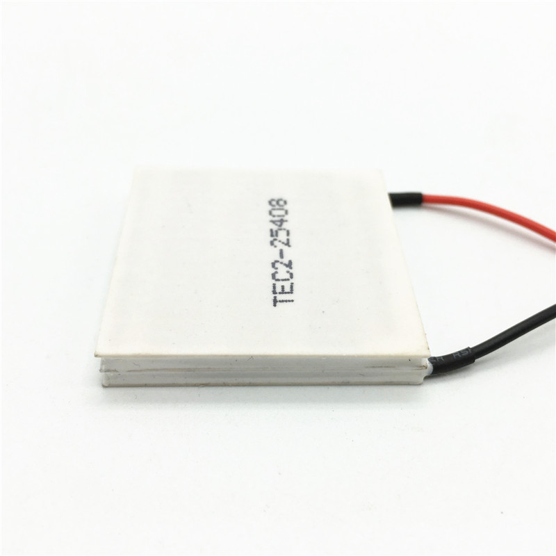 TEC2-25408 70W -30 Degree Double-Deck Thermoelectric Cooler Cooling Peltier Plate Module 15.4V 8A 40*40mm
