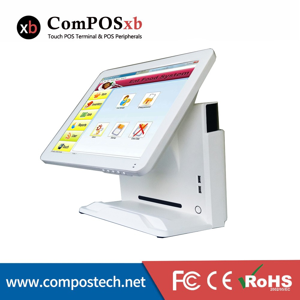15 Inch Touch Monitor Windows 10 Pos System With High Quality Made In China  - Buy 15 Inch Led Touch Moitor Pos,Windows 10 Pos,High Quality All In One