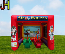 High Quality PVC Tarpaulin Mini Inflatable Air Racer Sport Game