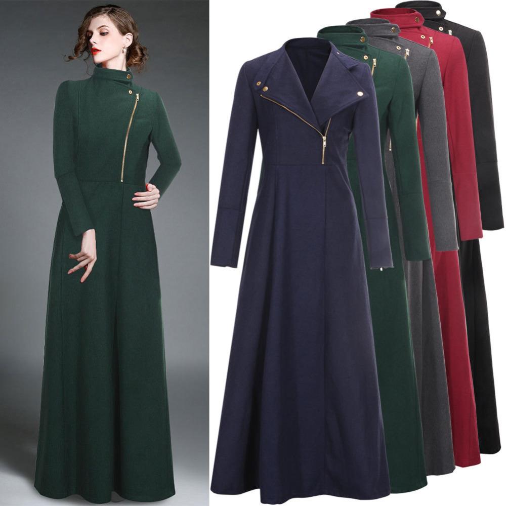 Extra Long Wool Coat Han Coats