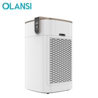 made in china cleaning equipment negative ion hepa filter 800m3/h CADR home air purifiers with essential oil