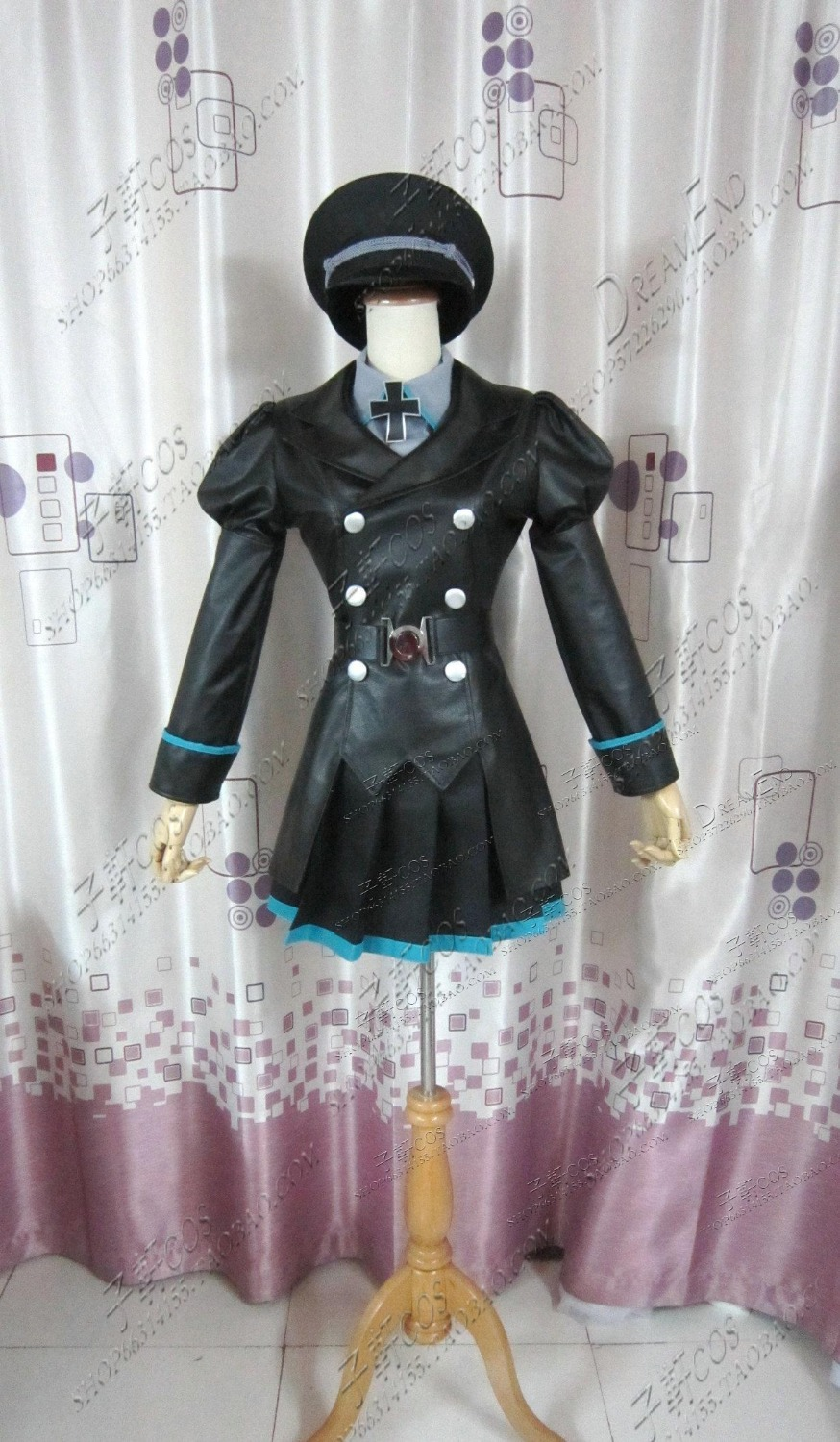Free Shipping Cosplay Costume Vocaloid Hatsune Miku Retail