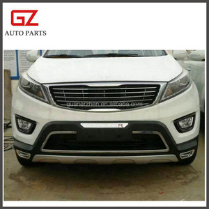 Front rear bumper board for 2015 Sportage R with B type