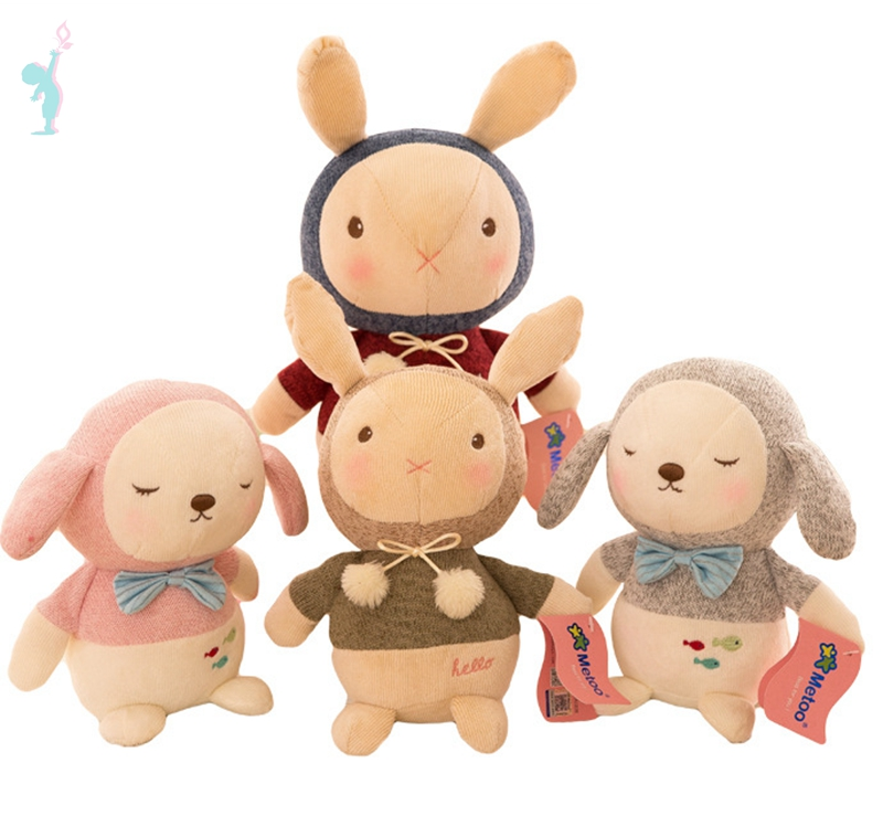 Hot baby toy stuffed plush metoo baby toy <strong>rabbit</strong>