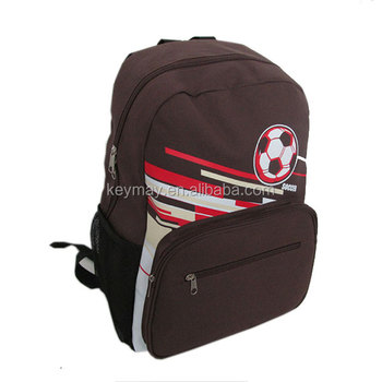 Keymay bag school bag backpack sport gym bag 600D polyester backpack bfb948ef4afdc