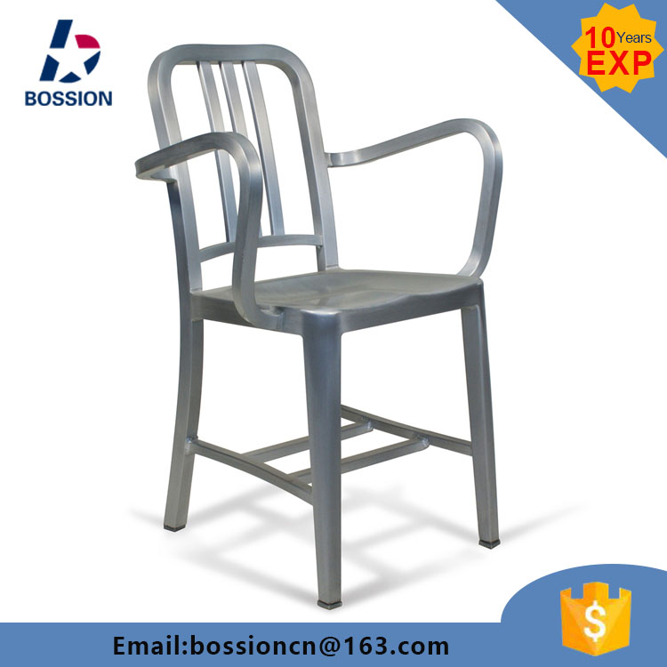 Outdoor Brushed Anodized Aluminum Navy Chairs   Buy Aluminum Navy Chairs,Brushed  Anodized Aluminum Navy Chairs,Outdoor Brushed Anodized Aluminum Navy Chairs  ...
