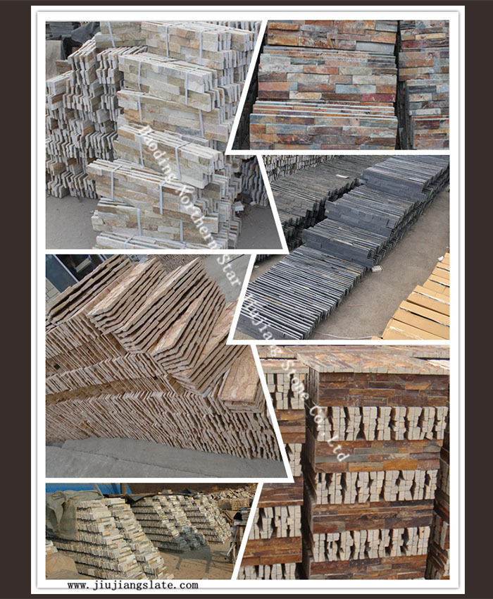 exterior decor wall stone panel corners